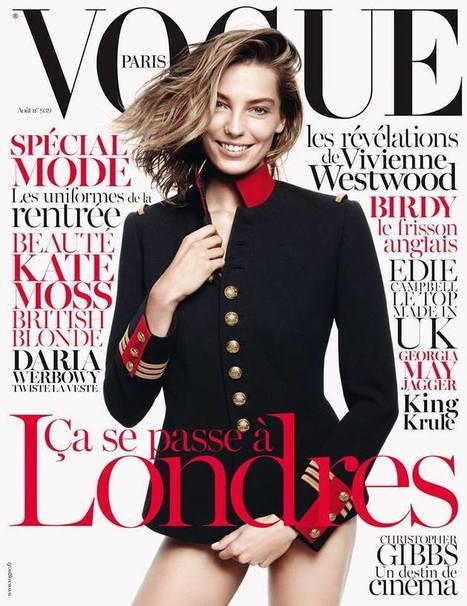 Vogue Paris August 2013: Daria Werbowy | التميز لتصميم المواقع | Scoop.it