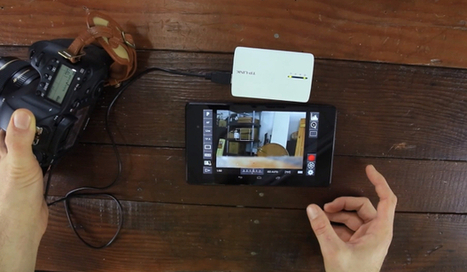 DIY: Take Wireless Control of Your Canon DSLR Using a $30 Router and Android - PetaPixel | DSLR Video | Scoop.it