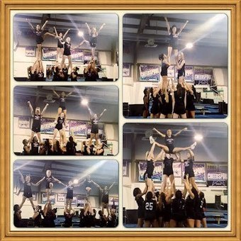 Traviera Sewell-The amazing creative stunts of my cheer team | Creative Endeavor | Scoop.it