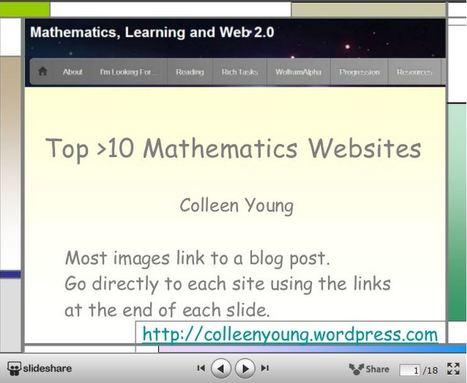 Top >10 Mathematics Websites | Maths Rocks! | Scoop.it