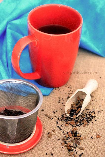 Veganlovlie: Warm Spiced Tea Strawberry-Banana Smoothie | Veganlovlie | Scoop.it
