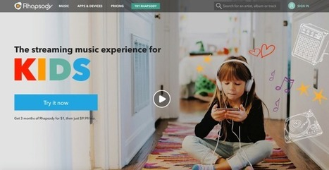 Rhapsody Targets Parents With Launch Of A Music-Streaming Service For Kids | Radio 2.0 (En & Fr) | Scoop.it