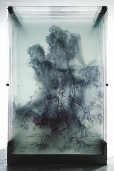 Xia Xiaowan: pinturas 3D em vidro | IdeaFixa | ilustração, design ... | Arte & design | Scoop.it