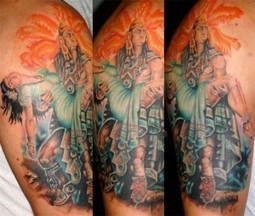 Aztec Tattoos | Tribal Tattoo Designs for Men and Women | Scoop.it