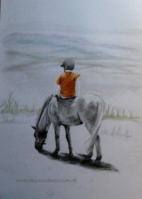 Paula Guinazu, artiste peintre   horse ball   Scoop.it