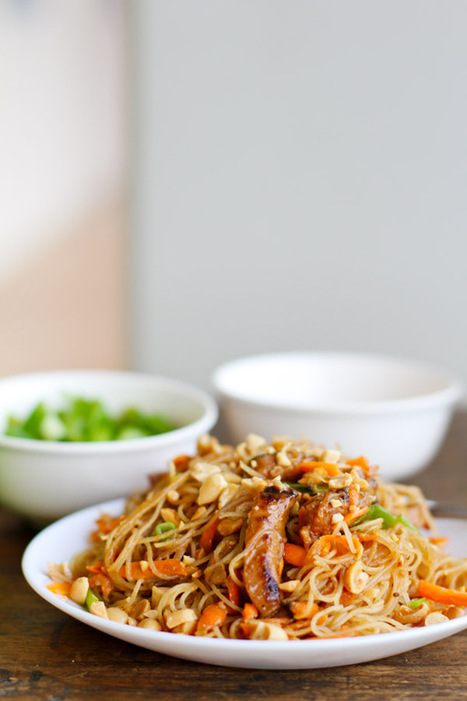 #Recipe - Hoisin Pork with Rice Noodles | Food that makes you say yumm | Scoop.it