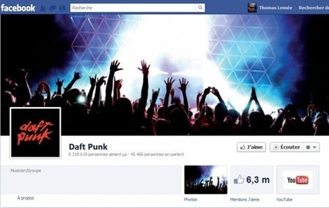 Facebook ajoute le bouton Écouter aux pages des musiciens | Facebook Pages | Scoop.it