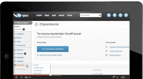 WP-Opas - Suomen suurin WordPressiä käsittelevä sivusto | Opeskuuppi | Scoop.it