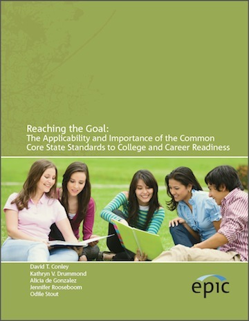 Reaching the Goal: A First Look at the Common Core State Standards as a Measure of College and Career Readiness | EPIC Online | The Teaching Librarian | Scoop.it
