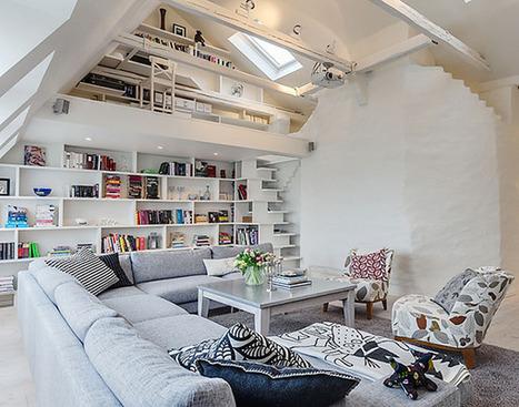 Beautiful and White Clean Apartment : Apartment Interior Design Ideas | Design | Scoop.it