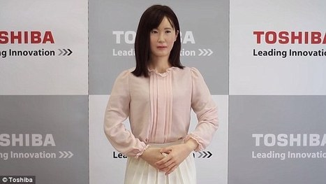 Toshiba to put its humanoid to work in Tokyo department store  | Xposing e-commerce, fashion & unique items. | Scoop.it