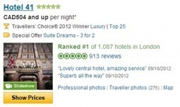 If your hotel ranks top on TripAdvisor, are you not charging enough? | Hospitality reputation | Scoop.it