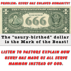 PROBLEM: USURY has enslaved humanity. | Monetary Reform | Scoop.it