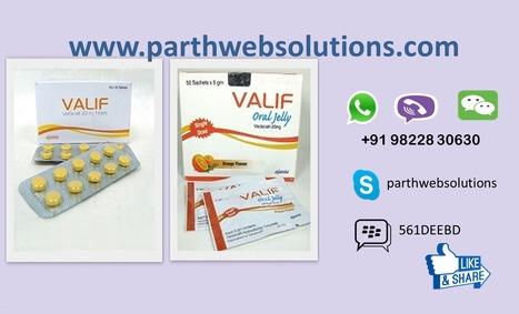 Valif Tablets & Valif Jelly (Vardenafil) | Pharmacy Dropshipping | Scoop.it