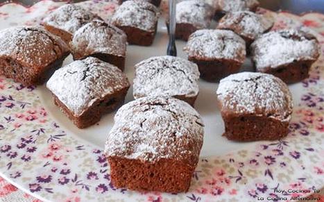 Hoy Cocinas Tú: Brownie de espelta y nueces - Gastronomía & Cía   Cocinas   Scoop.it