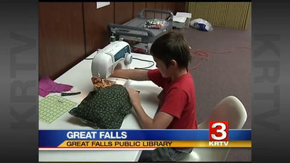 Great Falls library offers Maker Space program for kids and teens - KRTV Great Falls News | Elementary MakerSpaces | Scoop.it