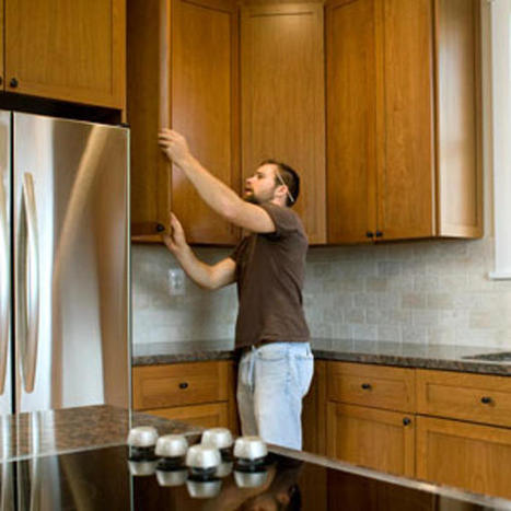 What's smarter: replacing or refacing your cabinets? | Eclectic Kitchen Design | Scoop.it