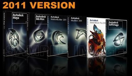 Where to Buy Autodesk Maya 2011, 3Ds Max 2011, Motion Builder, Softimage 2011, Mudbox 2011, SketchBook Pro Sale - Software Sale | 3D Graphics & Animation | Scoop.it