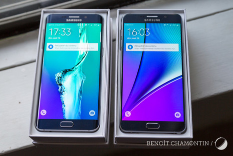 Samsung Galaxy Note 5 : notre prise en main - FrAndroid | Geeks | Scoop.it