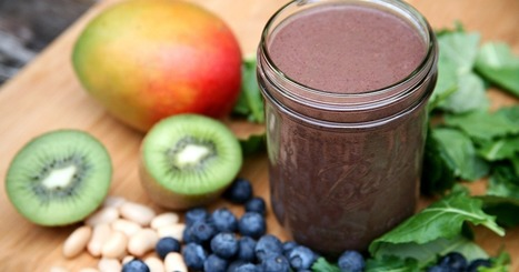 360-Calorie Blueberry-Mango-Kiwi Smoothie For Lovelier Locks | ♨ Family & Food ♨ | Scoop.it