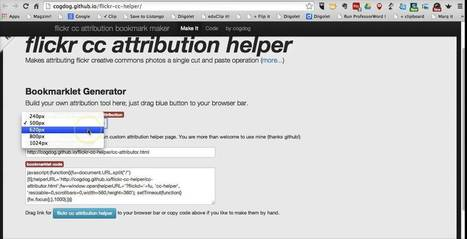 How to Use the Flickr CC Attribution Helper - YouTube   Daring Ed Tech   Scoop.it