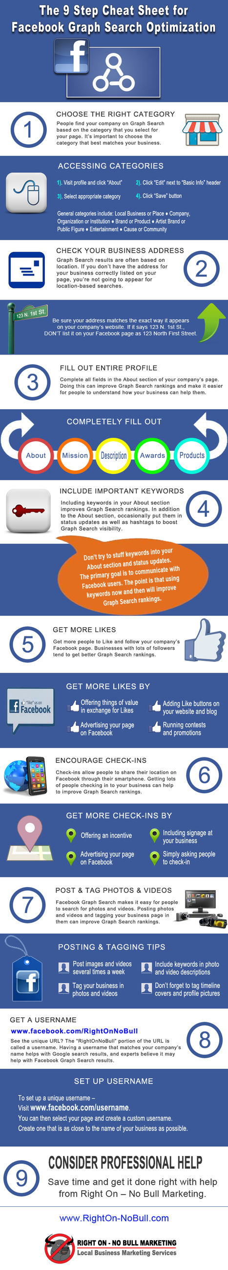 9 Steps for Facebook Graph Search Optimization [INFOGRAPHIC] | COMMUNITY MANAGEMENT - CM2 | Scoop.it