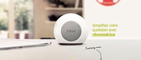 Chronodrive déploie son objet connecté Hiku | Drive : concept à succès | Scoop.it