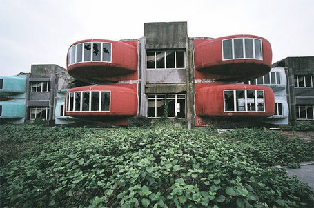 Taiwan's Abandoned Pod Village | Urban Decay Photography | Scoop.it