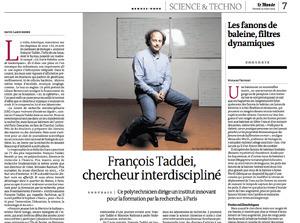 L'avenir de la recherche en éducation -François Taddeï France Inter | Médias et Santé | Scoop.it