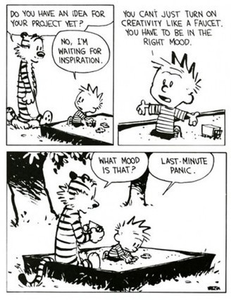 Calvin's guide to boosting creativity | creativity | Scoop.it