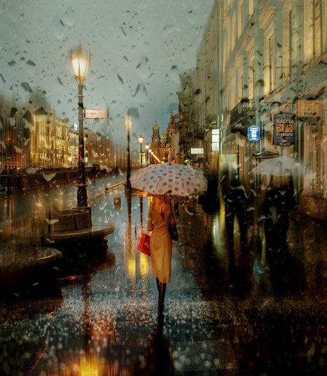 Rainy Russian Street Photography Looks Like Oil Paintings | Ephemerafotographica | Scoop.it