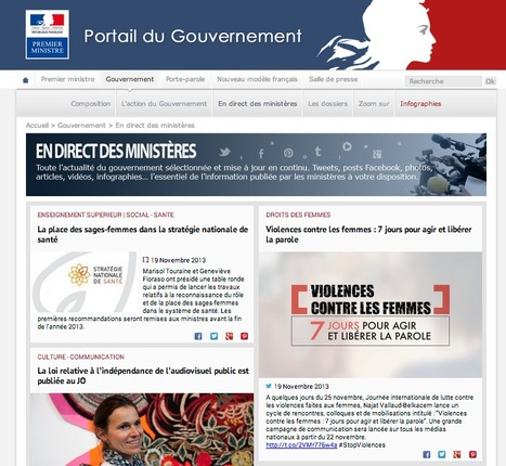 French Gouvernment | Showcase of custom topics | Scoop.it