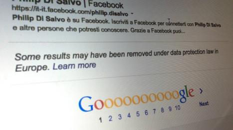 Guardian e BBC censurate su Google per il diritto all'oblio - Wired | Gold Communication | Scoop.it