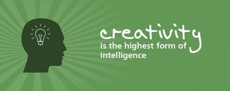 Creativity is the highest form of intelligence | Curious about Creativity | Scoop.it