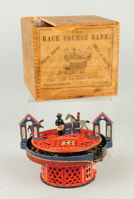 1870s Horse Race bank could top $50K at Morphy's, May 3 | Antiques & Vintage Collectibles | Scoop.it