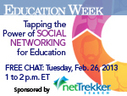 Webinar - Feb. 26 - 1pm (EST) the Power of Social Networking for Education | iGeneration - 21st Century Education | Scoop.it