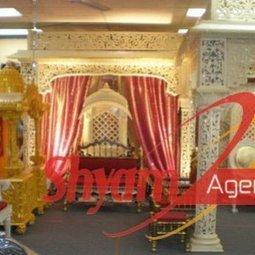Shyamagencies | Wedding Stage | Wedding Backdrop | Shyam Agencies Wedding Planner | Scoop.it