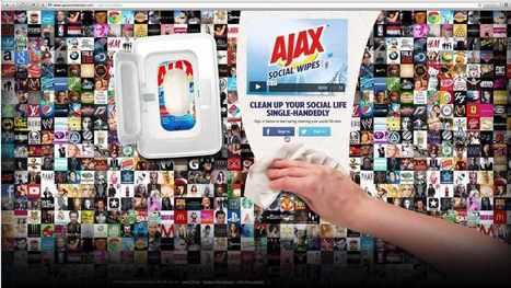 Pour montrer l'efficacité de ses lingettes, Ajax créé un outil pour nettoyer vos réseaux sociaux ! | Piwee | curation, e-comm | Scoop.it
