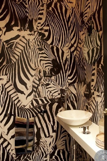 5 Wonderful Bathroom Walls for Inspiration | Wallpaper | Scoop.it