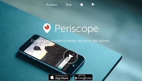 4 questions sur Périscope, le nouveau réseau social | Communication, marketing, informations, TIC ! | Scoop.it