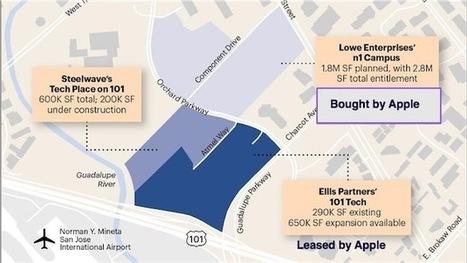 Apple achète de quoi construire un nouveau Campus2 à San Jose | Geeks | Scoop.it
