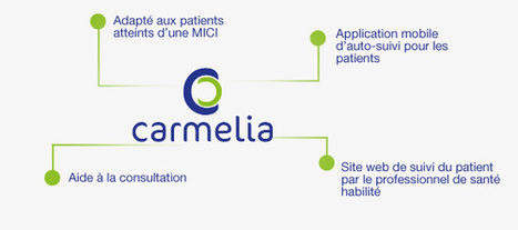 CARMELIA est un outil de suivi connecté à destination des patients atteints d'une MICI #hcsmeufr (maladie inflammatoire chronique de l'intestin) et leur professionnels de santé. | 9- PHARMA MULTI-CHANNEL MARKETING  by PHARMAGEEK | Scoop.it