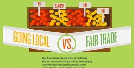 Buying Local vs. Fair Trade | Ethical Ocean | green infographics | Scoop.it