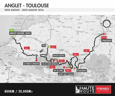 La course cycliste Haute Route Pyrénées 2016 à Cap-de-Long le 24 août | Vallée d'Aure - Pyrénées | Scoop.it