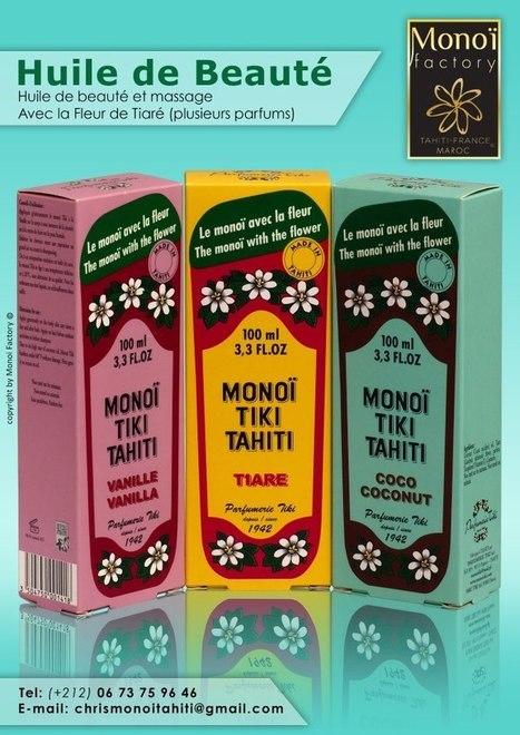 HUILES DE BEAUTE par ALOHA MONOI FACTORY...Vanille Tiaré Coco | Products by Aloha Monoi Factory | Scoop.it