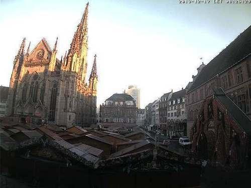 Webcam Mulhouse, Place de la Réunion | Ville de Mulhouse