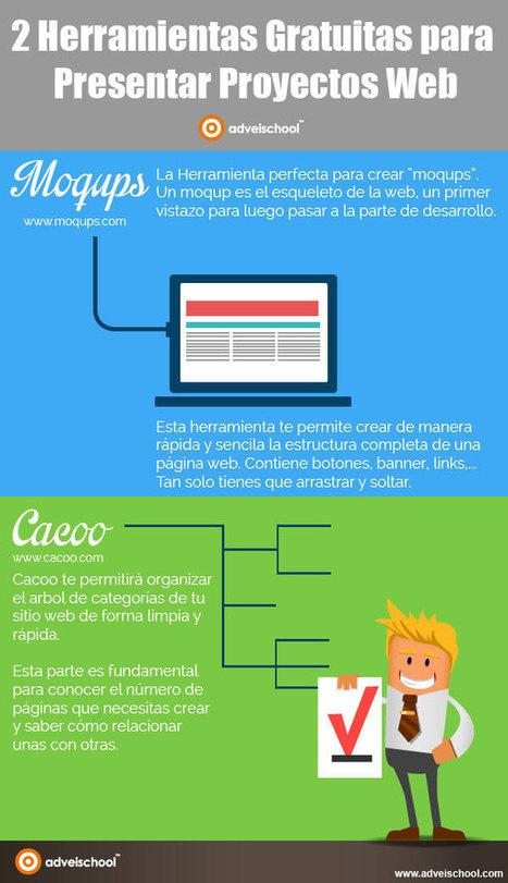 2 herramientas gratuitas para presentar proyectos web #infografia #infographic | CiberOficina | Scoop.it