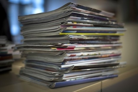 How to Declutter Your Magazine Pile | Evernote | Scoop.it