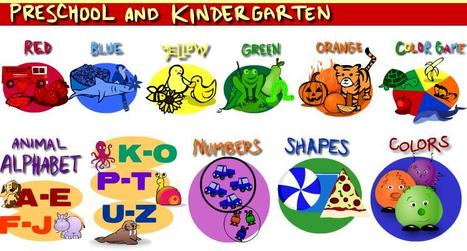 Preschool and Kindergarten Games | Information Science | Scoop.it