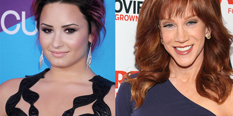 Kathy Griffin Gets Death Threats From Demi Lovato's Fans After Brief Twitter Feud - Huffington Post | Fandoms | Scoop.it